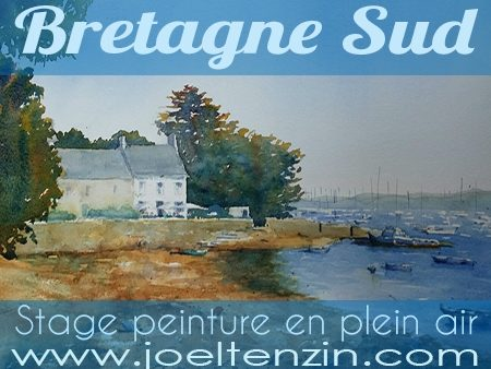 Stages Plein air France